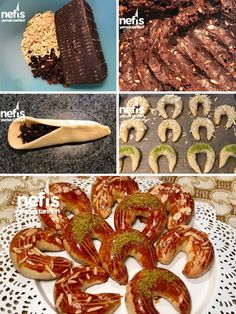 How to make the Sunflower (Perfect Flavor) Recipe? Illustrated explanation of this recipe in the boo Turkish Recipes, Italian Recipes, Pasta Cake, Turkish Sweets, Sweet Cookies, Food Words, Fish And Meat, Pastry Recipes, Croissants