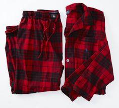 Polo Holiday Plaid Flannel Pajama