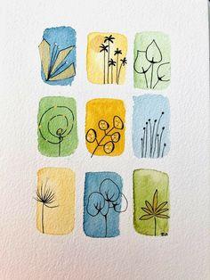 Watercolor Painting Techniques, Watercolor Projects, Abstract Watercolor, Watercolor And Ink, Painting & Drawing, Watercolor Paintings, Doodle Art Drawing, Art Drawings, Doodle Art For Beginners