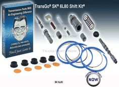 Transgo Shift Kits SK6L80 Great Products For your transmission Rebuild or Repairs