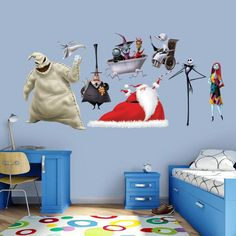 Fathead Nightmare Before Christmas Wall Decal Collection - 74-74565