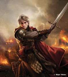 Aegon I Targaryen The Conquer Magali Villeneuve