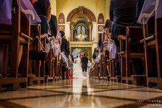 Vista de los novios en el Altar del Santuario de María Magdalena de Novelda en Alicante