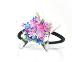 Adorable Flower Bouquet Star shaped Hair Band/ by shopHandmadeEtsy, $12.00