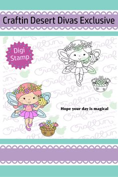 Magic Sunshine Digital Stamp
