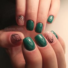 70 Simple Nail Design Ideas That Are Actually Easy Short Nail Manicure, Manicure And Pedicure, Elegant Nail Designs, Cute Nail Designs, Cute Nails, Pretty Nails, Korea Nail Art, Hair And Nails, My Nails