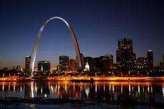 St.Louis Missouri Arch Photo Mug Hot Cocoa Gift Basket