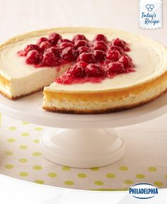 Tart and sweet, this cheesecake has everything you've ever wanted in a cheesecake.