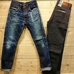 """""""Nudie Jeans Straight Alf Tonal. Worn for 1 year & washed 1 time"""""""