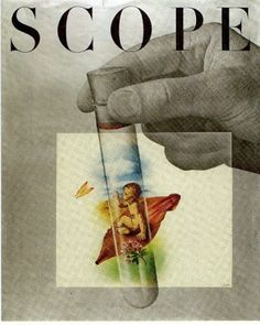Will Burtin, Cover for Scope magazine, USA, 1948
