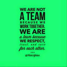 Love my team.