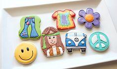 60's cookies...by Sweet Sugarbelle