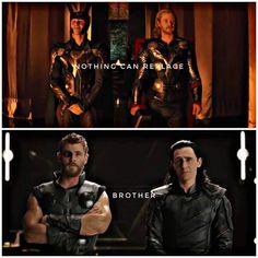 ❤️ #TomHiddleston #ChrisHemsworth #Thor #Loki ©ali