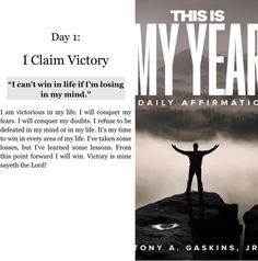 31 days of daily affirmations by Tony A Gaskins Jr