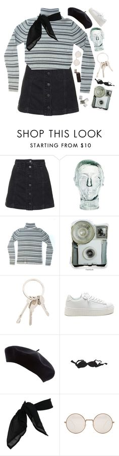 """""""reeling through the midnight streets"""" by adventures-at-neverland ❤ liked on Polyvore featuring Topshop, Givenchy, Agent Provocateur, TC Fine Intimates and Illesteva"""