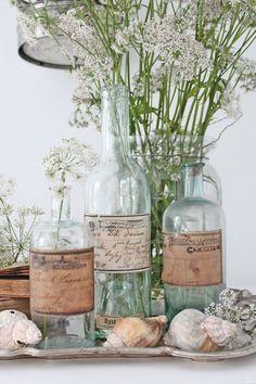 Καλοκαιρινές ιδέες με γυάλινα μπουκάλια