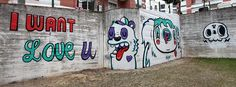 """I Want Love U"". Street Art. Loures Arte Pública."
