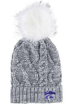 c887edaaed00c K-State Wildcats Grey Marled Womens Knit Hat - 74280514. Penn State  ClothesTiger T ShirtNittany LionMissouri ...