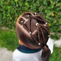 Types Of Hair Color, Different Hair Types, Work Hairstyles, Little Girl Hairstyles, Bus Crafts, Toddler Hair, Toddler Crafts, My Baby Girl, Fall Hair