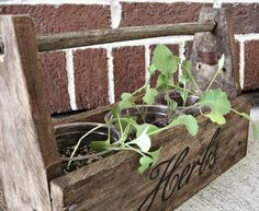 Herb Pot Planter Box | 99 Pallets