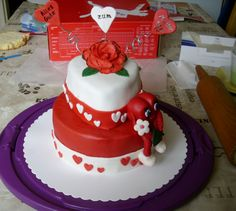 Mother's Day Cake Muttertagstorte