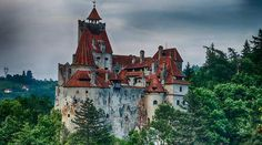 Bran Castle, Romania where Vlad the Impaler lived - 25 Spookiest Places Around the World
