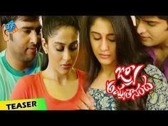 Jo Achyutananda movie Teaser, Nara Rohith, Naga Shourya, Regina Cassandra