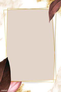 premium illustration of Rectangle foliage frame on white marble Rectangle foliage frame on white marble background vector Framed Wallpaper, Flower Background Wallpaper, Gold Background, Flower Backgrounds, Background Patterns, Wallpaper Backgrounds, Phone Backgrounds, Instagram Background, Instagram Frame