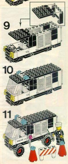 Police - Police Van [Lego 6681]