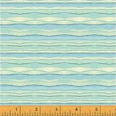Sara Franklin - Sunnyside - Wavey Stripe in Turquoise