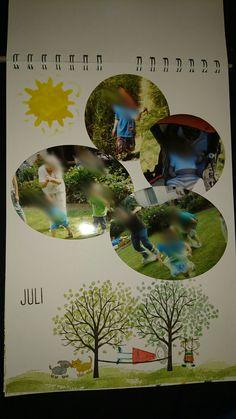 Kalender, Juli, Stampin Up