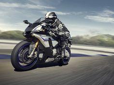 2015 Yamaha YZF-R1M - Silver Blu Carbon