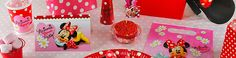 minnie mouse party supplies red and black | Red Minnie Mouse Party Supplies Minnie mouse