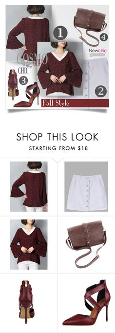 """NewChic Style #54"" by tawnee-tnt ❤ liked on Polyvore"