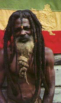 Rastafarian is a religious movement that emerged in Jamaica in the mid- 20 between the working class and black farmers, calling for the repatriation of the same to his ancestral home : Ethiopia - Africa.  This movement proclaims Haile Selassie I, Emperor of Ethiopia , as the earthly representation of Jah (God).
