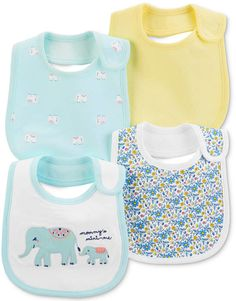 Mix and match with these sweet teething bibs. With a lining and aww-dorable designs, these bibs will keep baby dry all day long. Teething Bibs, Girls 4, Baby Girls, Carters Baby Girl, Baby Clothes Shops, Baby Gear, Printed Cotton, Baby Shop, Gender Female