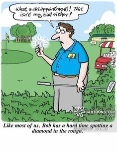 The Golf Ball Fairy Golf Humour Cartoons Golf Golf Golf Lessons Golf Humor