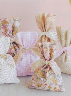 Cute DIY favor for the shabby chic bride