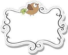 Cute Borders, Borders And Frames, Word Games For Kids, Art For Kids, Etiquette Vintage, Doodle Frames, Ladybug Crafts, Diy And Crafts, Paper Crafts