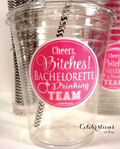 Bachelorette Party, Bachelorette Drinking Team, Cheers Bitches- READY TO SHIP