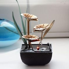Indoor Decorative Water Fountains Resin Crafts Gifts Feng Shui Wheel Desktop water fountain for home office tea house decoration, Feng Shui Water Fountain, Desktop Water Fountain, Water Fountain For Home, Indoor Tabletop Water Fountain, Indoor Pond, Indoor Water Fountains, Small Fountains, Stone Fountains, Fountain Ideas