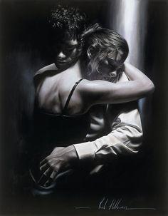 Elegance. Desire. Dance. Hyperrealistic Paintings by Rob Hefferan   Who Designed It?