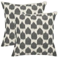 Just ordered these from Overstock for our guest bedroom to go on the white duvet. $39.99