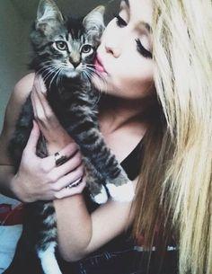 Tess)) Conner got me I kitten!! Her name is Tally!