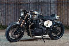'El Matador 2.0' Triumph Bonneville – Analog Motorcycles | Pipeburn.com