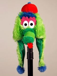 MLB Licensed Phillie Phanatic Laplander Dangle Hat Forever Collectibles  Philadelphia Phillies 1ba117831