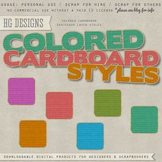 colored cardboard #photoshop #free #layer #styles Free Photoshop, Photoshop Brushes, Photoshop Tutorial, Digital Scrapbooking Freebies, Layer Style, Scrapbook Paper, Scrapbook Layouts, Blog Design, Photoshop Elements