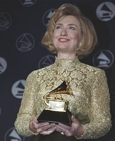 The Feed: Hillary Clinton won a Grammy—and 3 other things you never knew about her