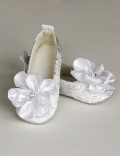 Toddler Shoes  Baby Shoes  Flower Girl Ballet by revolutionarysoul, $34.00