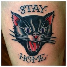 black cat tattoo - Google Search